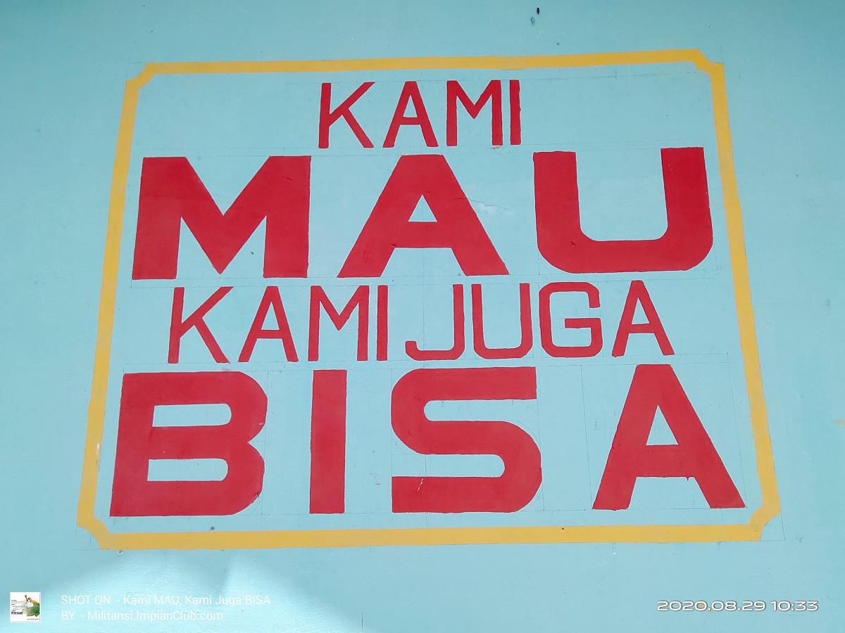 Kami MAU, Kami Juga BISA BDME Mangkup