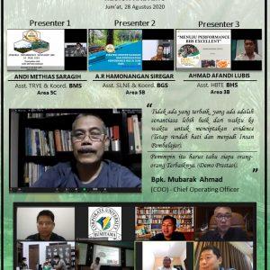 Presentasi ke Management - PIC Demo Prestasi Terpilih