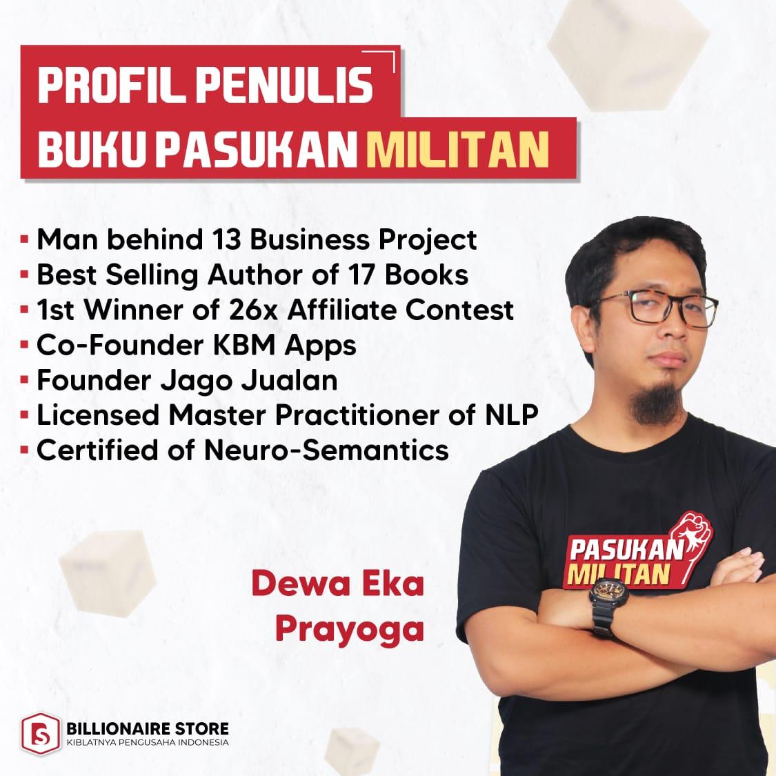 Profil Penulis Buku Pasukan Militan