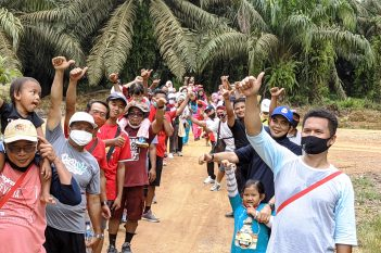Kebersamaan Staf dan keluarga PT.KMB Area 1 Regional Mentaya