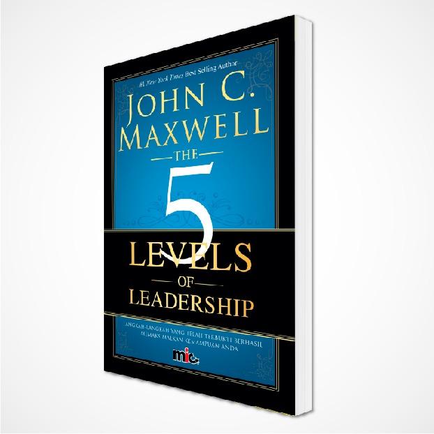 John C Maxwell - 5 Levels of Leadership - Cover