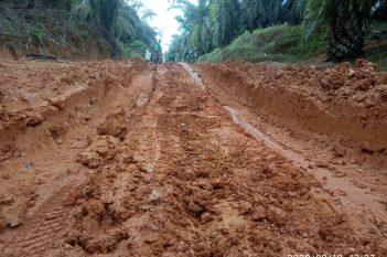 ondisi Jalan Rusak G07 (poros Logging)