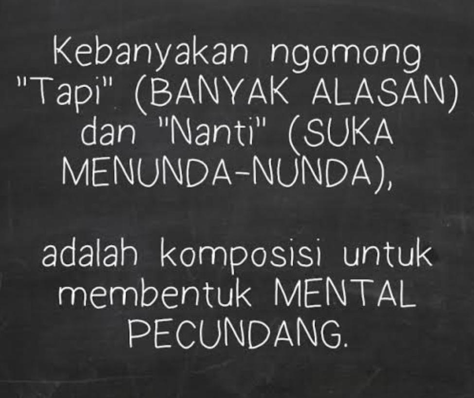 Mental Pemenang vs Mental Pecundang