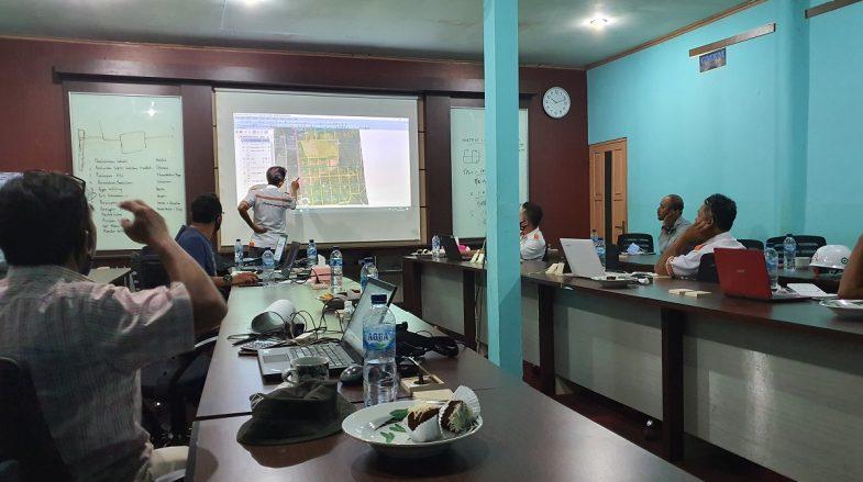 Meeting Koordinasi Perdana Rencana Bibitan Mangkup, Kamis 08 September 2020