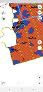 Peta Alokasi Genangan Banjir Divisi 3 BHJE