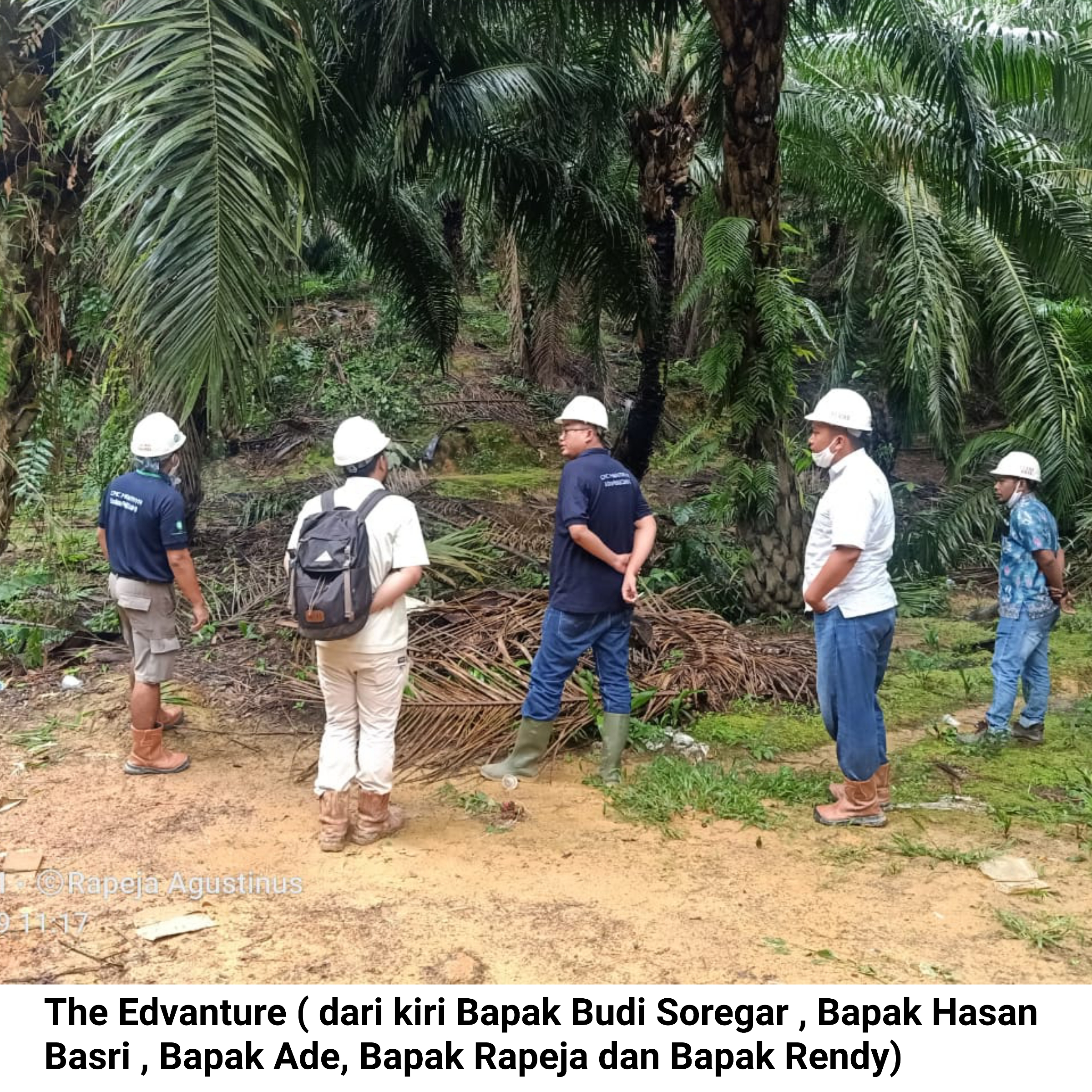 The Advanture Area Controller 1 bersama team ke Hutan BHJE