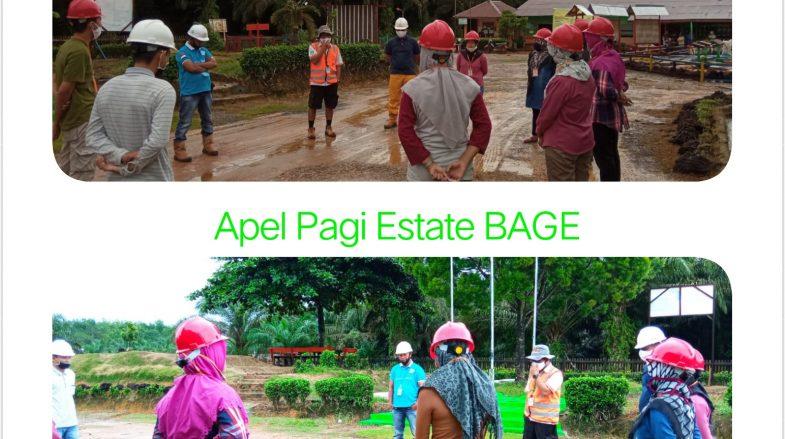 Apal AC 1 dan Mantri Area di Estate BAGE, Sabtu 17 Oktober 2020