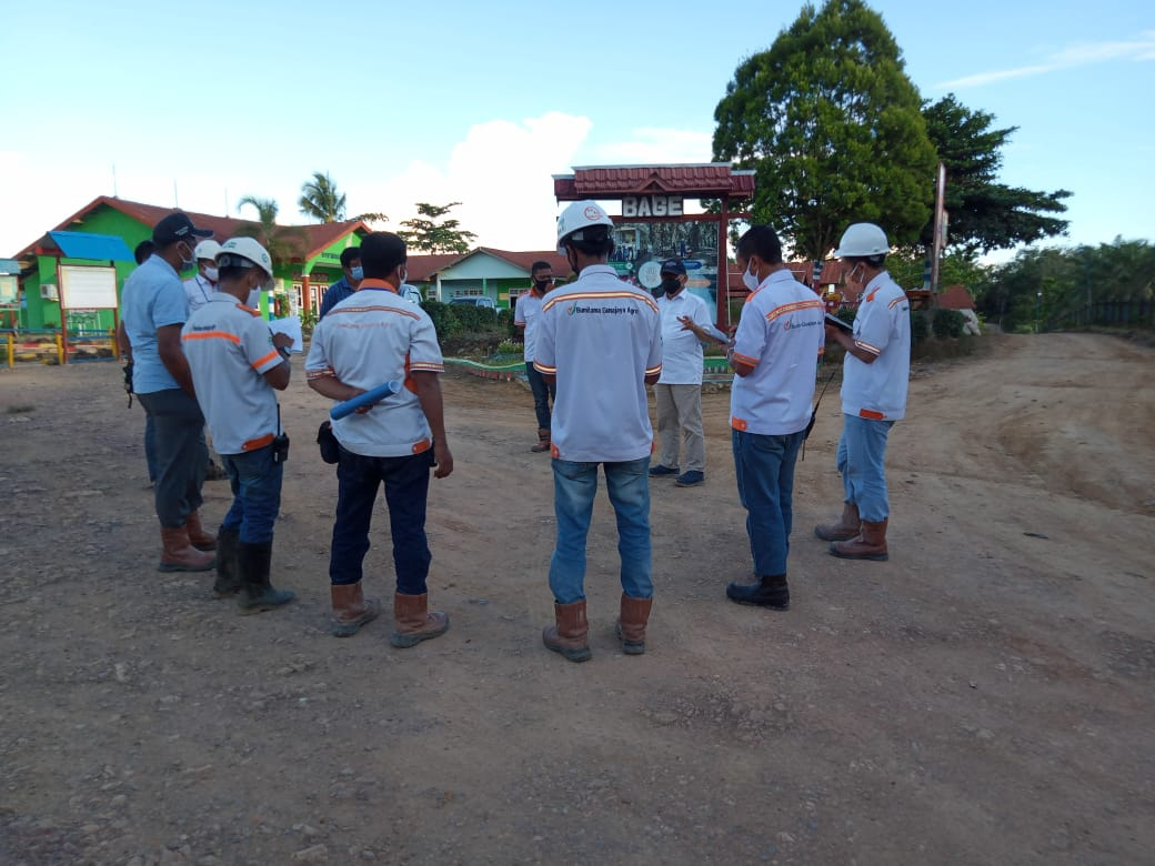 Foto Closing Dari Hasil Kunjungan Tim S2H HO dengan Bpk. RH Mentaya dan Tim Untuk Estate BAGE