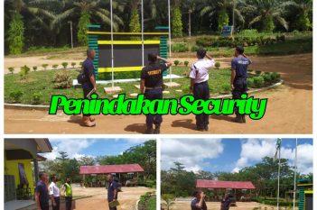 Penindakan Security BHJE yang melakukan pelanggaran, Jumat 20 Nopember 2020