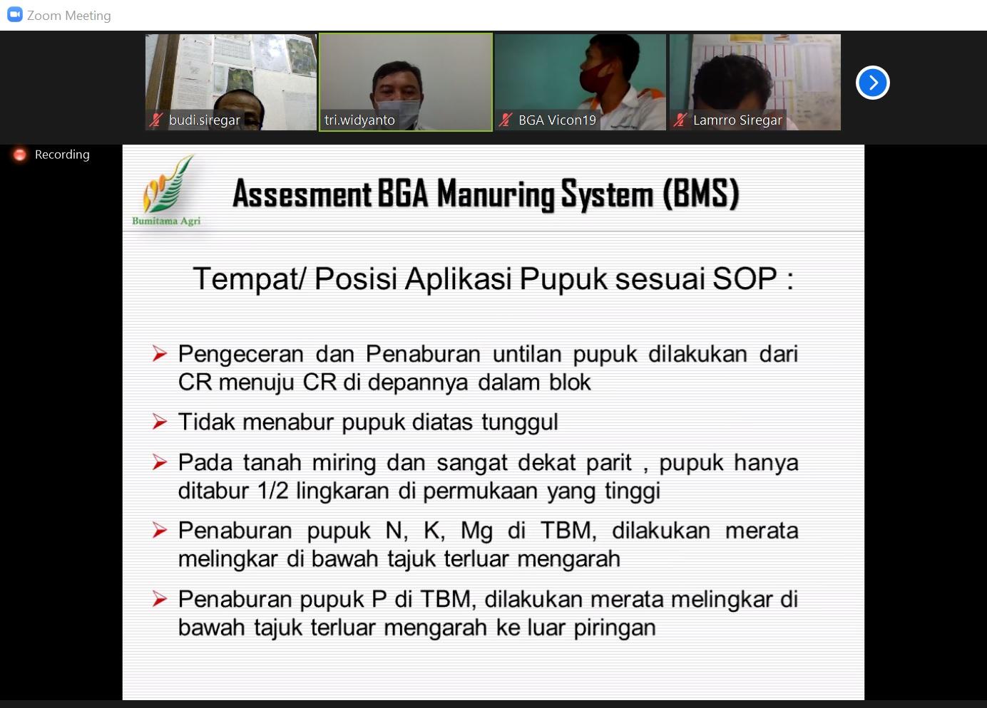 Asesment BMS - Tempat Aplikasi Pupuk