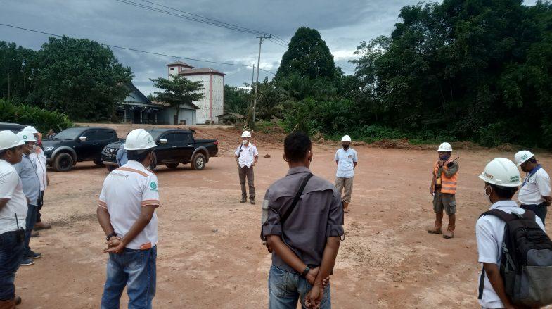 Lintas Koordinasi Petinggi Unit di Area 1 Menentukan Area Parkir di GMKM