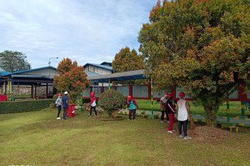 Kegiatan Gotong Royong Kebersihan di Mill GMKM Area 1 ( 1 )