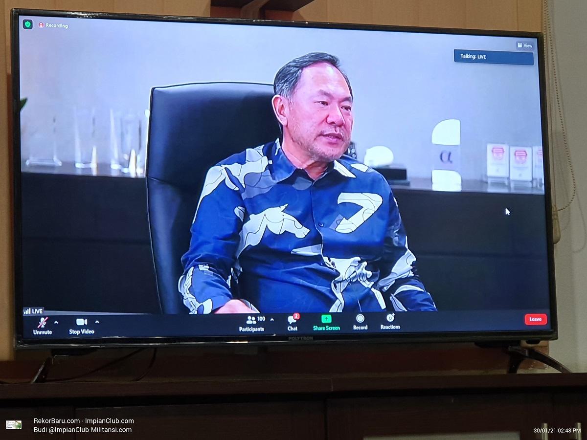 Bapak Lim Gunawan Harianto, CEO BGA