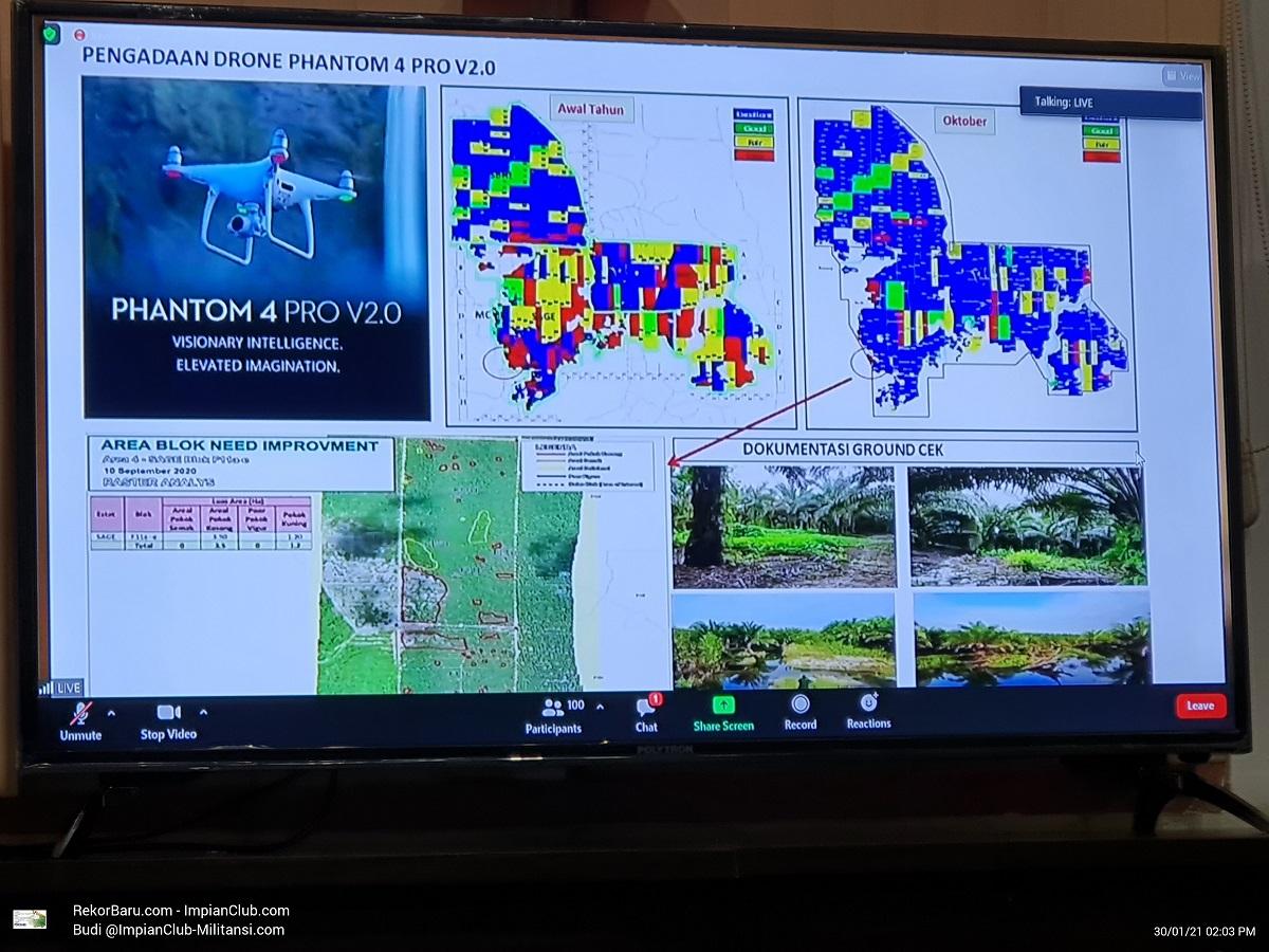 Pengadaan Drone Panthom Pro 4 Versi 2.0