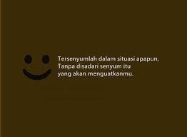 Tersenyumlah Dalam Situasi Apapun.